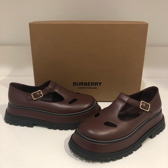 burberry t bar shoes
